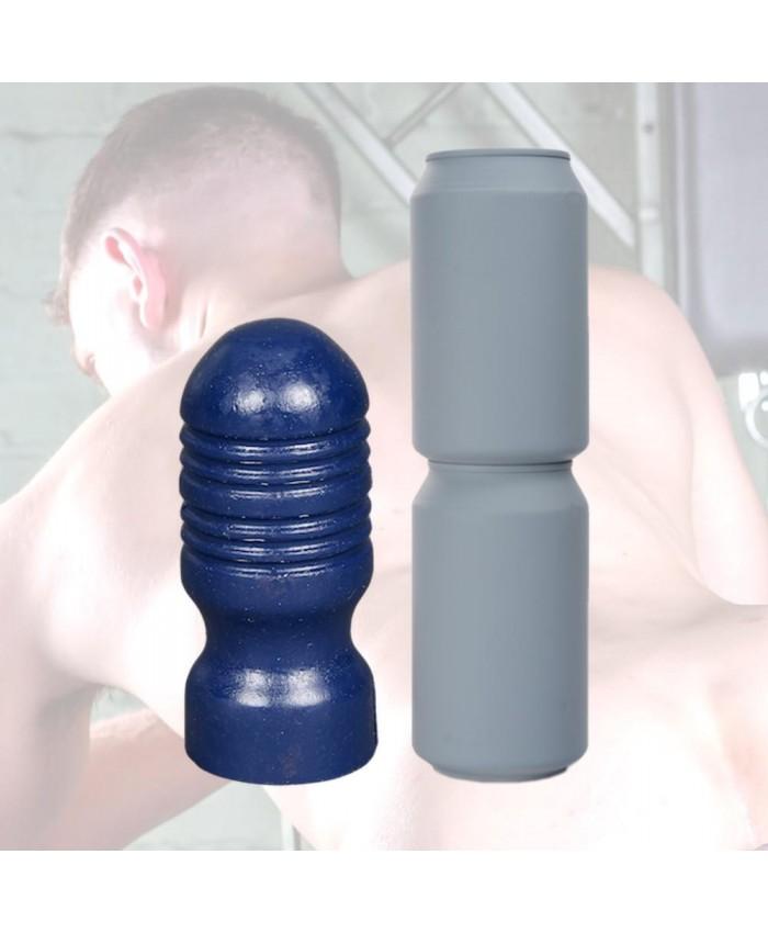 Crackstuffers Ridged Butt Plug  Large 19cm
