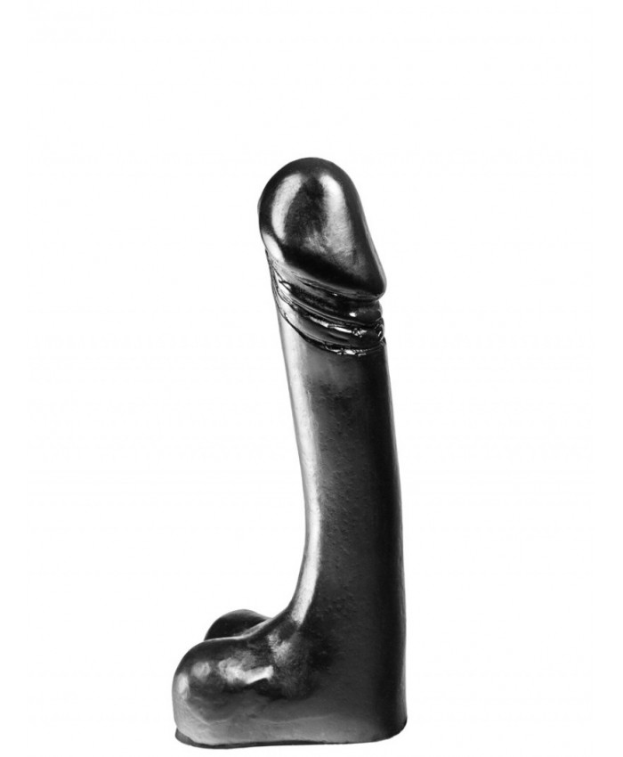 James regular dildo (Black) 7in x 1.6in