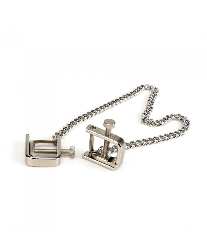 NIP CLAMPS WITH CHAIN ZE PRESS